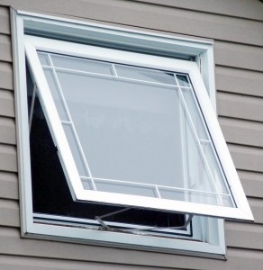 A21 andersen awning window white for Anderson vinyl windows