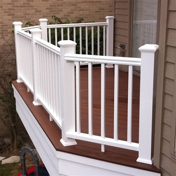 White Rail Pack Timbertech Express 8 92 5 Quot Railing Length
