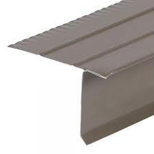 Roof Drip Edge Brown 10 Aluminum